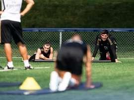 Gareth Bale ne panique pas. EFE/Johany Jutras