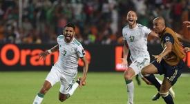 Argelia ha logrado algo impensable gracias al fútbol. EFE/Archivo