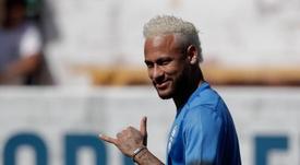 Neymar insiste que quer sair do PSG. EFE/ Fernando Bizerra Jr