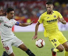 Brighton want to sign Alfonso Pedraza (R), AFP