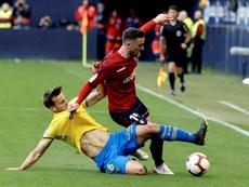 Lesión de gravedad para el jugador de Osasuna. EFE