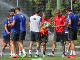 De Marcos espera que al Athletic no le cueste tanto coger el tono. EFE