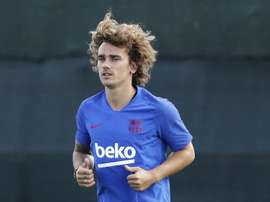 Griezmann says he tried to leave on good terms with Atletico. EFE/Andreu Dalmau