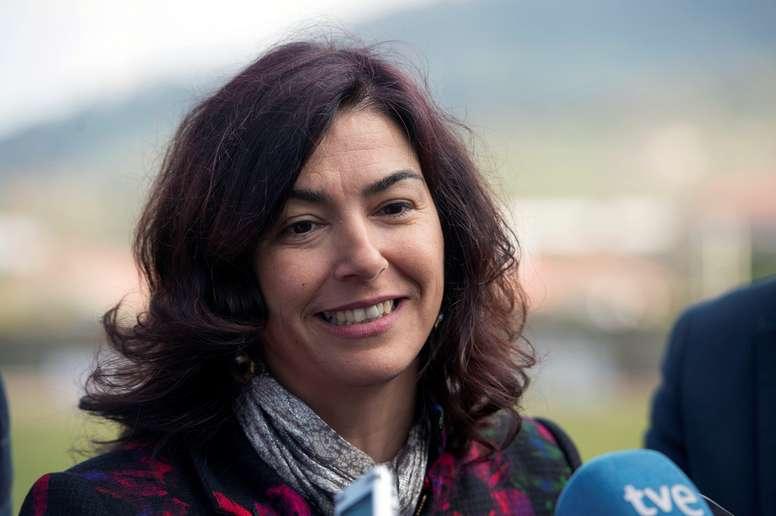 La secretaria de Estado para el Deporte, María José Rienda. EFE/Pedro Puente Hoyos/Archivo