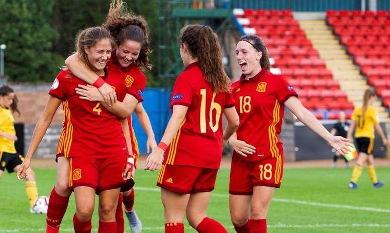 España se la jugará ante Suiza, Serbia y Suecia. EFE/Archivo