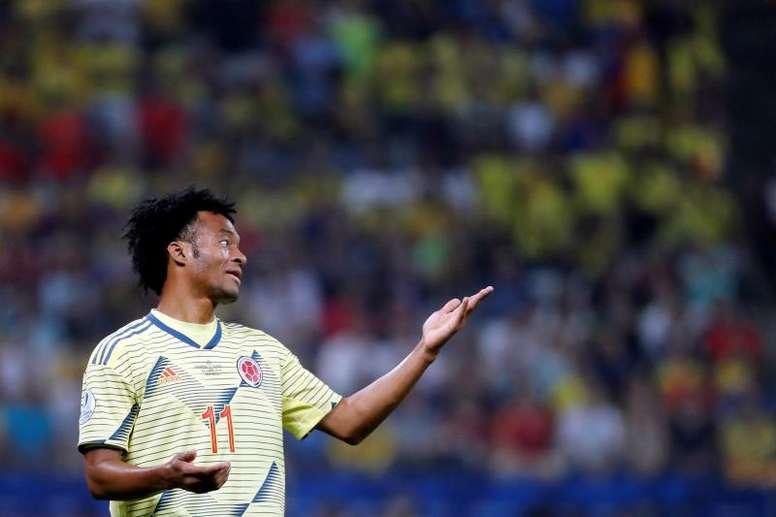 La Juventus veut prolonger Cuadrado jusqu'en 2021. EFE
