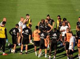 Robinho ravissait Bernabéu à ses débuts avec le Real. EFE