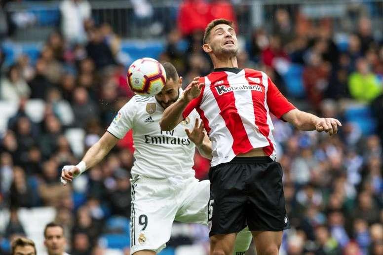 Yeray ata su carrera deportiva al Athletic. EFE