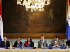 Chile, Argentina, Paraguay y Uruguay se postulan juntas para organizar el Mundial 2030. EFE