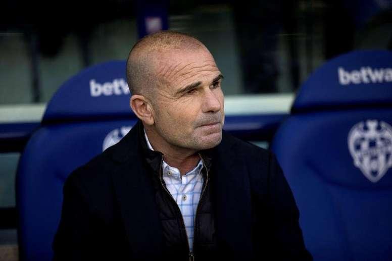 Paco López valoró el empate sin goles ante el Eibar. EFE/ Domenech Castelló/Archivo