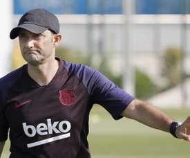 Valverde parle du rôle de De Jong. EFE/Andreu Dalmau