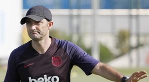 Valverde a envoyé un message à Rakitic. EFE