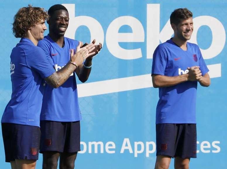 Uma posição sem dono desde a saída de Dani Alves. EFE/Andreu Dalmau