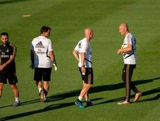 El Madrid de Zidane atrae los focos ante el Bayern. EFE