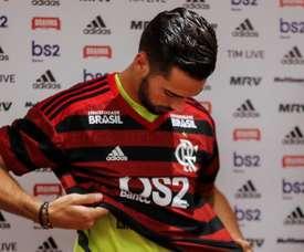 Pablo Marí falou sobre sua impressão no Flamengo. EFE