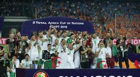 El triunfo de Argelia también fue celebrado en casa de los Zidane. EFE