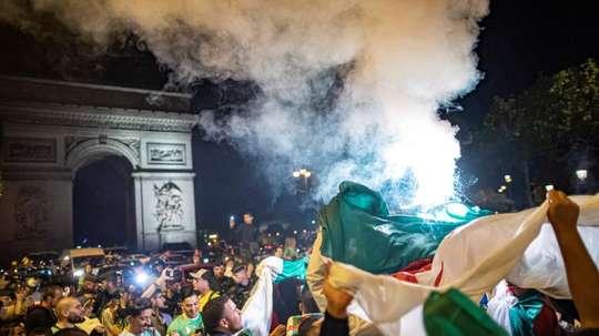 La celebración tuvo consecuencias principalmente en París. EFE