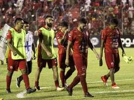 Los equipos se plantaron en Bolivia y no hubo fútbol. EFE/Juan Carlos Torrejón/Archivo