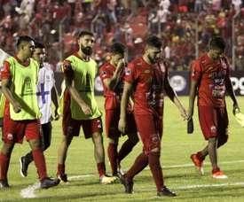 Nacional Potosí y Guabirá sumaron un triunfo. EFE