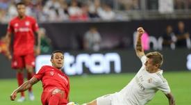 El Madrid no pudo con el Bayern. EFE