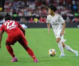 Kubo jouera avec le Castilla. EFE