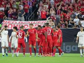 O novo Real Madrid começa com derrota. EFE/Jorge Campos