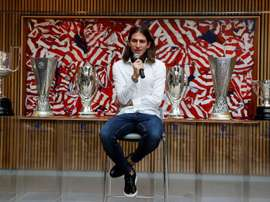 Filipe Luis et toutes les offres qu'il a reçues. EFE/Paco Campos