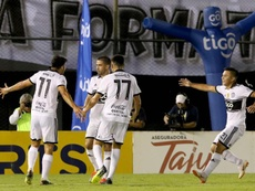 Olimpia se medirá a Liga de Quito. EFE/Andrés Cristaldo/Archivo