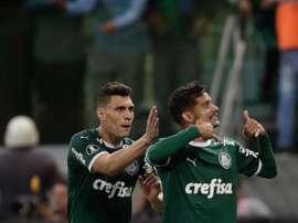 Palmeiras viajará este lunes a Mendoza. EFE