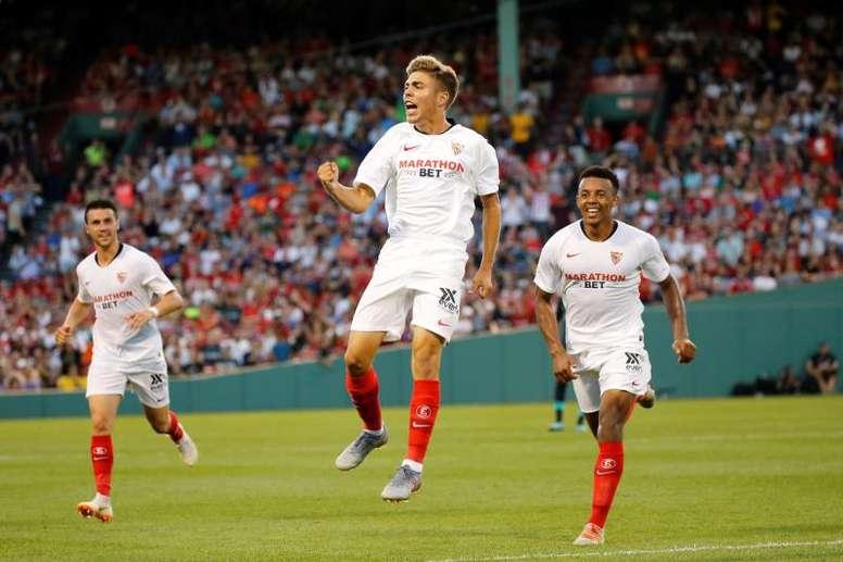 Visitarán al conjunto nazarí en la primera jornada de Liga. EFE