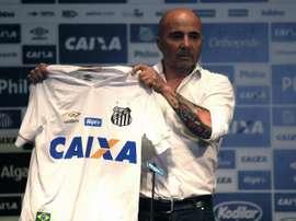 Santos prepara ampliação do contrato de Sampaoli. EFE/Fernando Bizerra/Archivo
