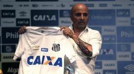 Sampaoli suposta ida ao Palmeiras. EFE/Fernando Bizerra/Archivo