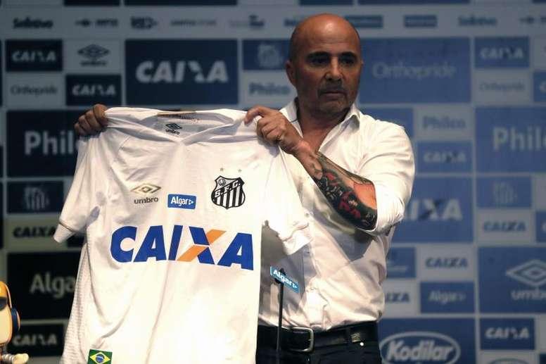 El Brasileirao 'pasa' del parón: Sampaoli, obligado a ganar. EFE/Fernando Bizerra