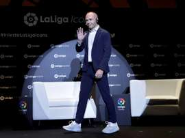 Andres Iniesta doesn't believe in successors. EFE/Archivo