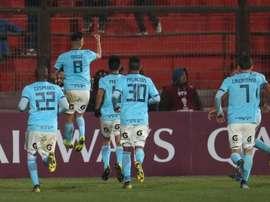 Sporting Cristal, campeón de la Copa Bicentenario. EFE/ElvisGonzalez
