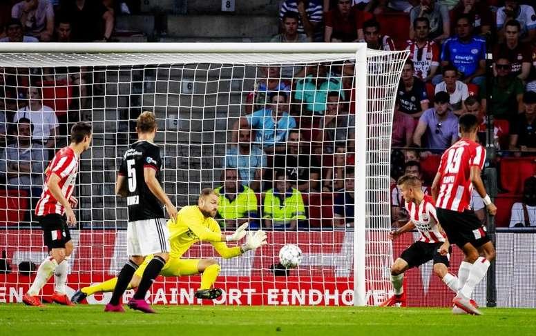 El PSV no levanta cabeza. EFE/Archivo