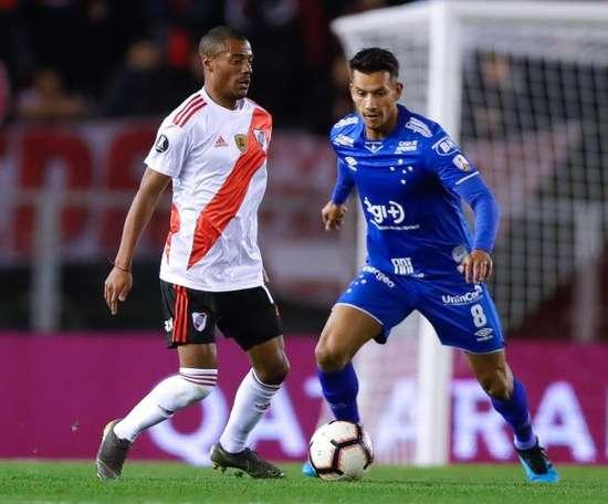 Cruzeiro é eliminado da Libertadores pela mão de Armani. EFE