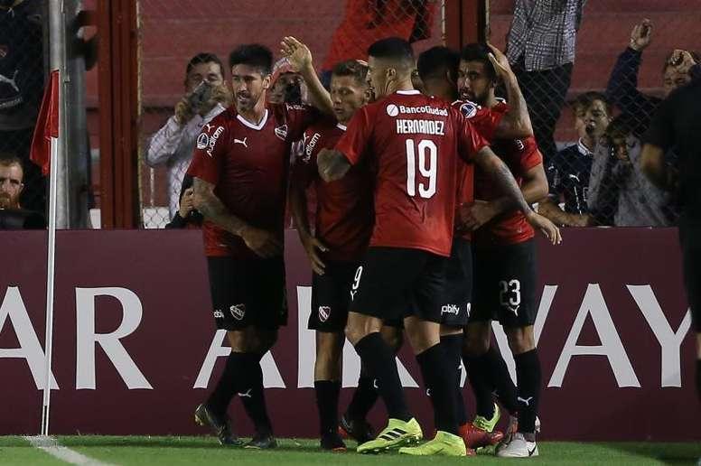 Independiente ya está en cuartos. EFE