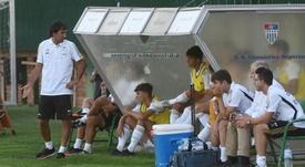 Hugo Duro, el sustituto de Jovic en el primer equipo. EFE/EPA/Archivo