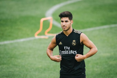 Each day Marco Asensio is closer to reappearing. EFE/Archivo