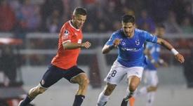 La MLS tienta a Luis Amarilla. EFE/Juan Ignacio R