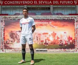 Koundé fue presentado con el Sevilla. EFE