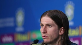 FIlipe Luis defendió al Cholo Simeone. EFE