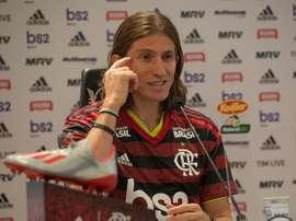 Filipe Luis abre as portas do Flamengo a Diego Costa. EFE