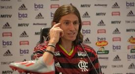 Filipe Luis explica como seria seu treinador perfeito. EFE