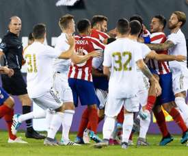 Atletico thrashed Real Madrid in New Jersey. EFE