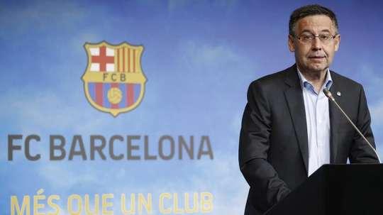 Bartomeu falou  sobre a eliminação do Barça. EFE