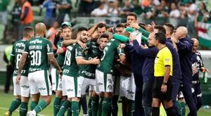 A Palmeiras se le escurre el liderato. EFE