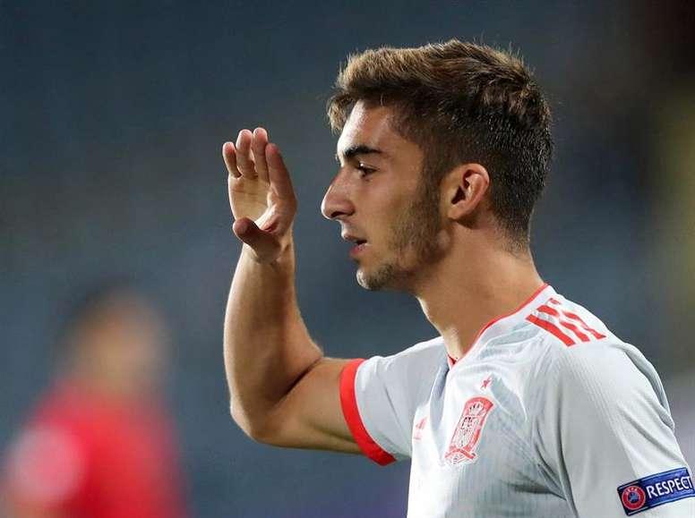Sin confirmarse su salida al City, Ferran destapó su lado más personal. EFE