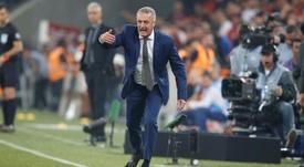 Alfaro analizó el triunfo de Boca. EFE/ Hedeson Alves/Archivo